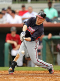 Atlanta Braves v Houston Astros, KISSIMMEE, FL - MARCH 01: Nate McCouth Photographic Print by Mike Ehrmann