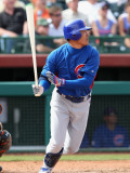 Chicago Cubs v San Francisco Giants, SCOTTSDALE, AZ - MARCH 01: Kosuke Fukudome Photographic Print by Christian Petersen