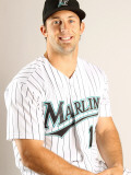 Florida Marlins Photo Day, JUPITER, FL - FEBRUARY 23: Brian Petersen Photographic Print by Mike Ehrmann