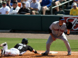 New York Mets v Florida Marlins, JUPITER, FL - MARCH 04: Chris Coghlan and Lucas Duda Photographie par Marc Serota