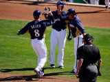 Colorado Rockies v Milwaukee Brewers, PHOENIX, AZ Photographic Print by Kevork Djansezian