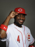 Cincinnati Reds Photo Day, GOODYEAR, AZ - FEBRUARY 20: Brandon Phillips Photographic Print by Rob Tringali