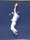 Oakland Athletics v San Diego Padres, PEORIA, AZ - MARCH 06: Chris Denorfia Photographic Print by Christian Petersen