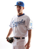 Kansas City Royals Photo Day, SURPRISE, AZ - FEBRUARY 23: Dan Duffy Photographic Print by Jonathan Ferrey