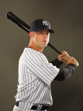 New York Yankees Photo Day, TAMPA, FL - FEBRUARY 23: Brett Gardner Photographic Print by Al Bello