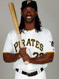 Pittsburgh Pirates Photo Day, BRADENTON, FL - FEBRUARY 20: Andrew McCutchen Photographic Print by J. Meric