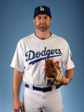 Los Angeles Dodgers Photo Day, GLENDALE, AZ - FEBRUARY 25: Casey Blake Photographic Print by Harry How