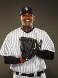 New York Yankees Photo Day, TAMPA, FL - FEBRUARY 23: CC Sabathia Photographic Print by Al Bello