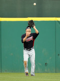 Atlanta Braves v Houston Astros, KISSIMMEE, FL - MARCH 01: Nate McLouth Photographic Print by Mike Ehrmann