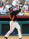 Chicago Cubs v San Francisco Giants, SCOTTSDALE, AZ - MARCH 01: Miguel Tejada Photographic Print by Christian Petersen