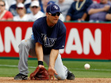 Tampa Bay Rays v Philadelphia Phillies, CLEARWATER, FL - MARCH 06: Casey Kotchman Photographic Print by J. Meric