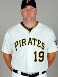 Pittsburgh Pirates Photo Day, BRADENTON, FL - FEBRUARY 20: Chris Snyder Photographic Print by J. Meric