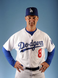 Los Angeles Dodgers Photo Day, GLENDALE, AZ - FEBRUARY 25: Don Mattingly Photographic Print by Harry How