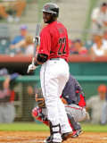Atlanta Braves v Houston Astros, KISSIMMEE, FL - MARCH 01: Bill Hall Photographic Print by Mike Ehrmann