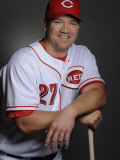 Cincinnati Reds Photo Day, GOODYEAR, AZ - FEBRUARY 20: Scott Rolen Photographic Print by Rob Tringali