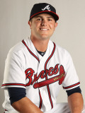 Atlanta Braves Photo Day, LAKE BUENA VISTA, FL - FEBRUARY 21: Lee Hyde Photographic Print by Mike Ehrmann