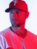 Philadelphia Phillies Photo Day, CLEARWATER, FL - FEBRUARY 22: Ross Gload Photographic Print by Nick Laham