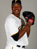 Pittsburgh Pirates Photo Day, BRADENTON, FL - FEBRUARY 20: Donnie Veal Photographic Print by J. Meric