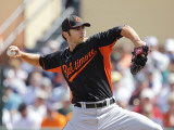 Baltimore Orioles v Detroit Tigers, LAKELAND, FL - MARCH 04: Jake Arrieta Photographic Print by Leon Halip