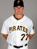 Pittsburgh Pirates Photo Day, BRADENTON, FL - FEBRUARY 20: Brian Friday Photographic Print by J. Meric