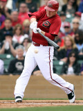 Colorado Rockies v Arizona Diamondbacks, SCOTTSDALE, AZ - FEBRUARY 26: Stephen Drew Photographie par Jonathan Ferrey