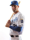 Kansas City Royals Photo Day, SURPRISE, AZ - FEBRUARY 23: Jeff Francoeur Photographic Print by Jonathan Ferrey