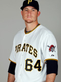 Pittsburgh Pirates Photo Day, BRADENTON, FL - FEBRUARY 20: Bryan Morris Photographic Print by J. Meric