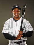 New York Yankees Photo Day, TAMPA, FL - FEBRUARY 23: Curtis Granderson Photographic Print by Al Bello