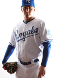 Kansas City Royals Photo Day, SURPRISE, AZ - FEBRUARY 23: Chris Dwyer Photographic Print by Jonathan Ferrey