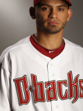 Arizona Diamondbacks Photo Day, SCOTTSDALE, AZ - FEBRUARY 21: Gerardo Parra Photographic Print by Ezra Shaw