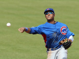 Chicago Cubs v San Francisco Giants, SCOTTSDALE, AZ - MARCH 01: Starlin Castro Photographic Print by Christian Petersen
