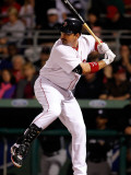 New York Yankees v Boston Red Sox, FORT MYERS, FL - MARCH 14: Adrian Gonzalez Photographic Print by J. Meric