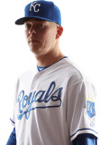Kansas City Royals Photo Day, SURPRISE, AZ - FEBRUARY 23: John Lamb Photographic Print by Jonathan Ferrey