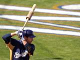 Oakland Athletics v Milwaukee Brewers, PHOENIX, AZ - MARCH 03: Ryan Braun Photographic Print by Christian Petersen