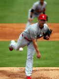 St. Louis Cardinals v Florida Marlins, JUPITER, FL - MARCH 06: Kevin Thomas Photographic Print by Marc Serota