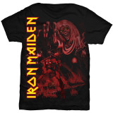 Iron Maiden - POM Monochromatic Red T-Shirts