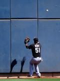 Chicago White Sox v Milwaukee Brewers, PHOENIX, AZ - MARCH 17: Jeremy Reed Photographic Print by Kevork Djansezian