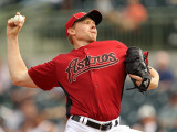 Atlanta Braves v Houston Astros, KISSIMMEE, FL - MARCH 01: Mark Melancon Photographic Print by Mike Ehrmann