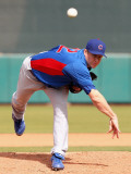 Chicago Cubs v San Francisco Giants, SCOTTSDALE, AZ - MARCH 01: Todd Wellemeyer Photographic Print by Christian Petersen