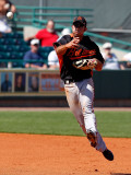 Baltimore Orioles v Pittsburgh Pirates, BRADENTON, FL - FEBRUARY 28: J.J. Hardy Photographic Print by J. Meric