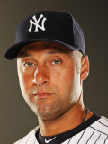 New York Yankees Photo Day, TAMPA, FL - FEBRUARY 23: Derek Jeter Photographic Print by Al Bello