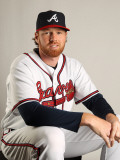 Atlanta Braves Photo Day, LAKE BUENA VISTA, FL - FEBRUARY 21: Tommy Hanson Photographic Print by Mike Ehrmann