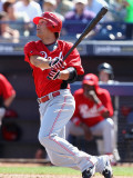 Cincinnati Reds v Seattle Mariners, PEORIA, AZ - MARCH 04: Kris Negron Photographic Print by Christian Petersen