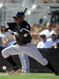 Chicago White Sox v Los Angeles Dodgers, PHOENIX, AZ - FEBRUARY 28: Juan Pierre Photographic Print by Harry How