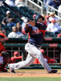Cleveland Indians v Cincinnati Reds, GOODYEAR, AZ - FEBRUARY 28: Shin-soo Choo Photographic Print by Norm Hall