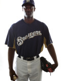 Milwaukee Brewers Photo Day, MARYVALE, AZ - FEBRUARY 24: LaTroy Hawkins Photographic Print by Jonathan Ferrey