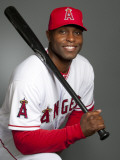 Los Angeles Angels of Anaheim Photo Day, TEMPE, AZ - FEBRUARY 21: Torii Hunter Photographie par Rob Tringali