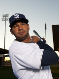 San Diego Padres Photo Day, PEORIA, AZ - FEBRUARY 23: Jesus Guzman Photographic Print by Rob Tringali
