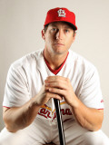St. Louis Cardinals Photo Day, JUPITER, FL - FEBRUARY 24: David Freese Photographic Print by Mike Ehrmann
