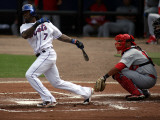 St. Louis Cardinals v New York Mets, PORT ST. LUCIE, FL - MARCH 03: Jose Reyes Photographic Print by Marc Serota